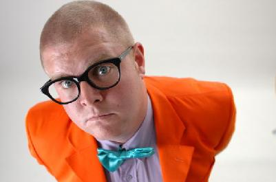 Chris Forrest, one of SA's masters of deadpan comedy, played host. Pic: comedians-south-africa.co.za