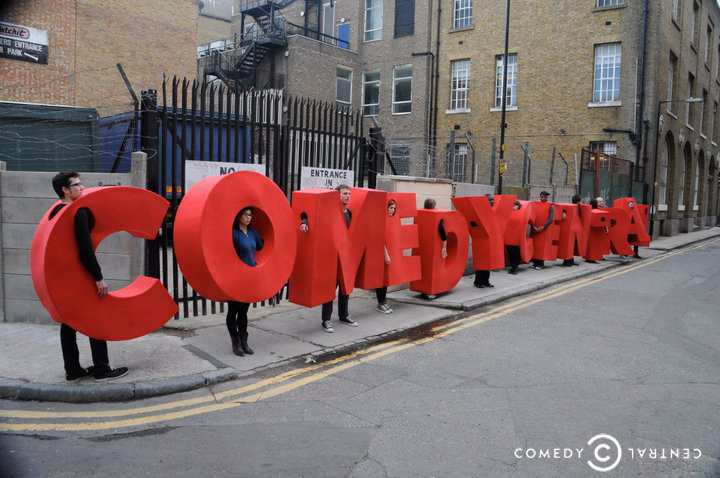 Comedy lined up: Comedy Central's competition culminated in a show on 2 June. Pic: Steven Seller