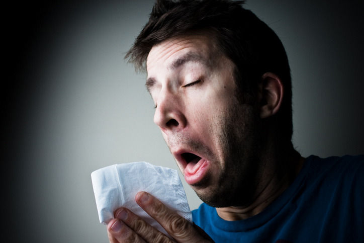 The beginning stages of the flu resulted in a misadventure in a boardroom. Pic: alergicoalasoja.blogspot.com