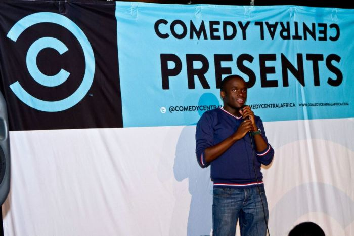 The stand-up comedy took on a conversational tone at 2013's Comedy Central show. Pic: Cindy Ellis/Comedy Central Africa